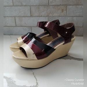 ☆HP☆ MARNI Itailian made leather platform sandals